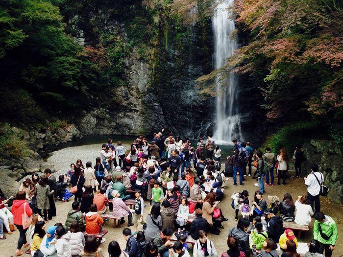 IPhoneography OSAKA Japan Landscape Waterfall