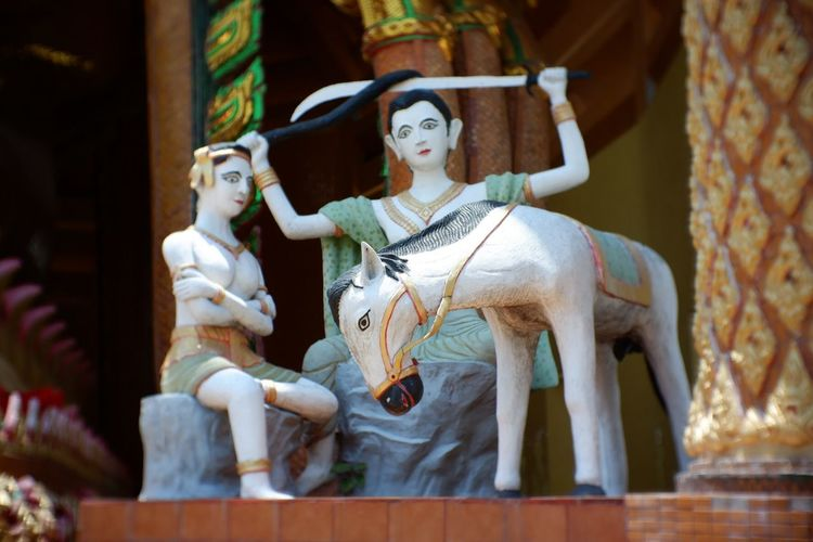 Temple. EyeEm Selects Representation Human Representation Art And Craft Sculpture Creativity Statue Religion Belief