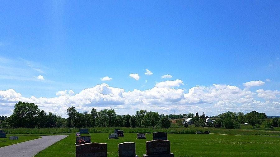 Graveyard Blue
