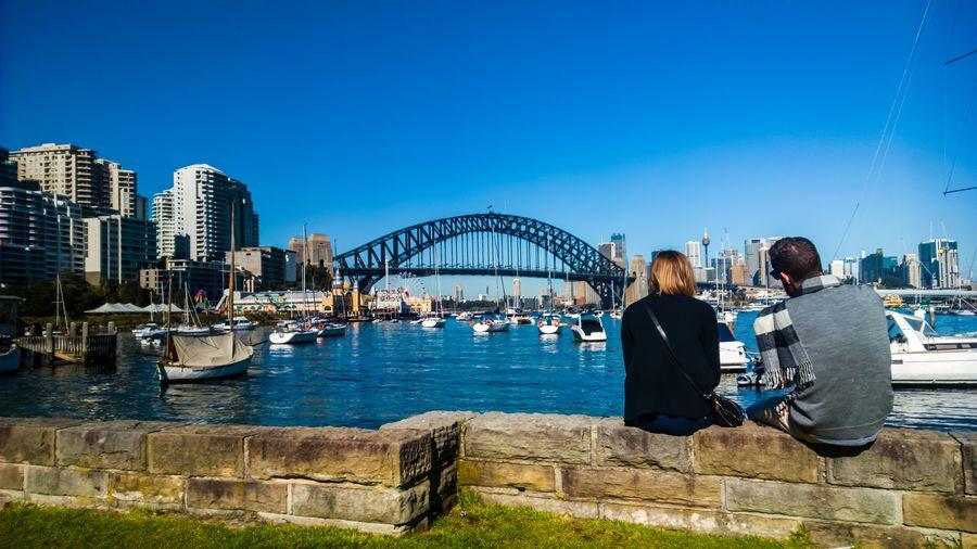 Whisper, whisper at Lavendar Bay, Sydney. Lumia930