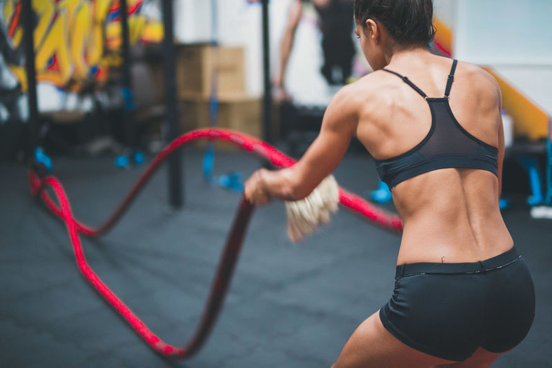 Athlete Day Exercising Focus On Foreground Gym Healthy Lifestyle Lifestyles One Person Outdoors People Real People Sport Sports Clothing Strength Young Adult