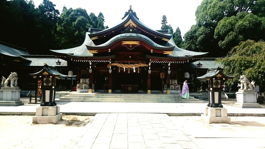 Shinto Shrine Japan Shrine Hall Of Worship