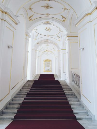 Hrad Castle 43 Golden Moments Palace Castle Bratislava, Slovakia White Album White Background White Addict Stairways Stairs Geometry