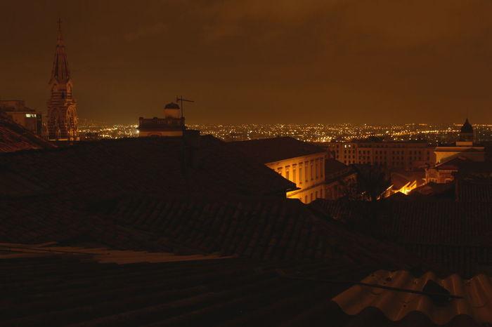 Bogotacity Building Exterior Capital Cities  City Life La Candelaria Night Nightphotography No Edit/no Filter Plaza De Bolivar Rooftop