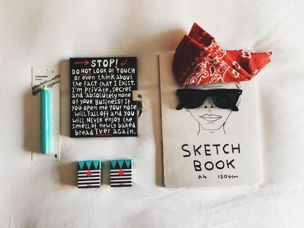Lieblingsteil Craft Book Favoritethings Angle View Minimalism Minimalist Bed