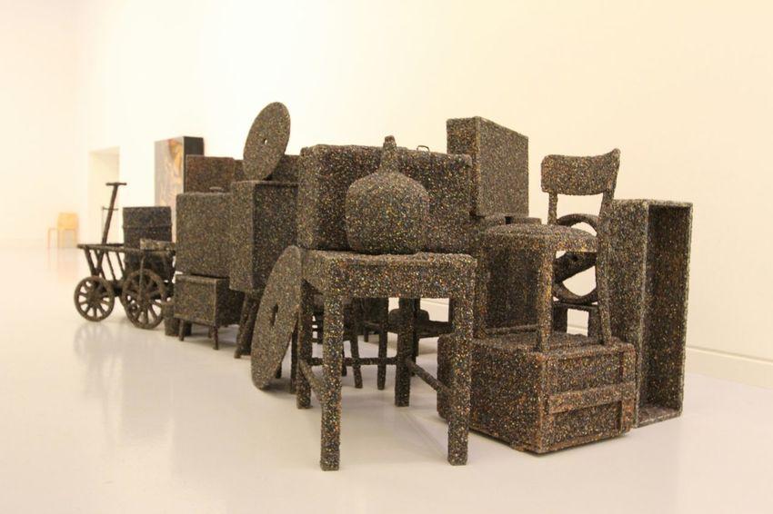 Exhibition Modernart Discovering Great Works Modern Art Art Museum Visiting Museum Strasburg Chairs Strasbourg♥ Art Gallery