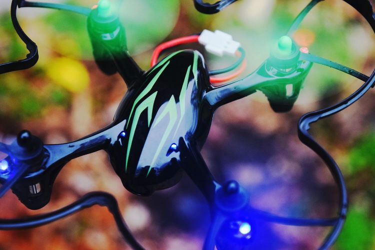 Q Quadcopter Showcase March Colorful Flying Romote Control Drone