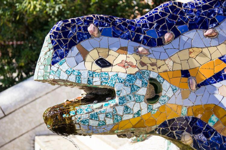 Gaudi's Lizard,
