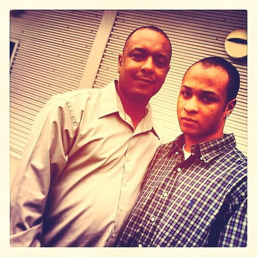 Me and my dad.