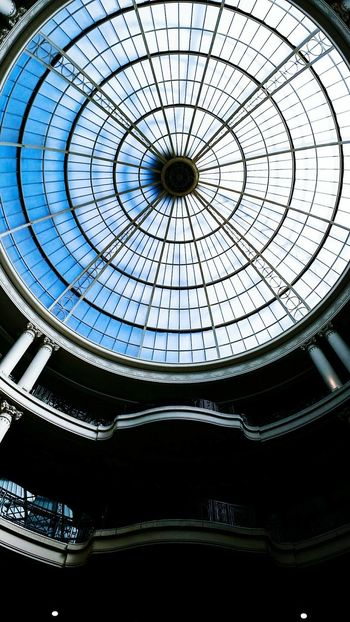 Rediscovering old places and photos Whiteleys Bayswater Architecture Skylight London The Architect - 2016 EyeEm Awards