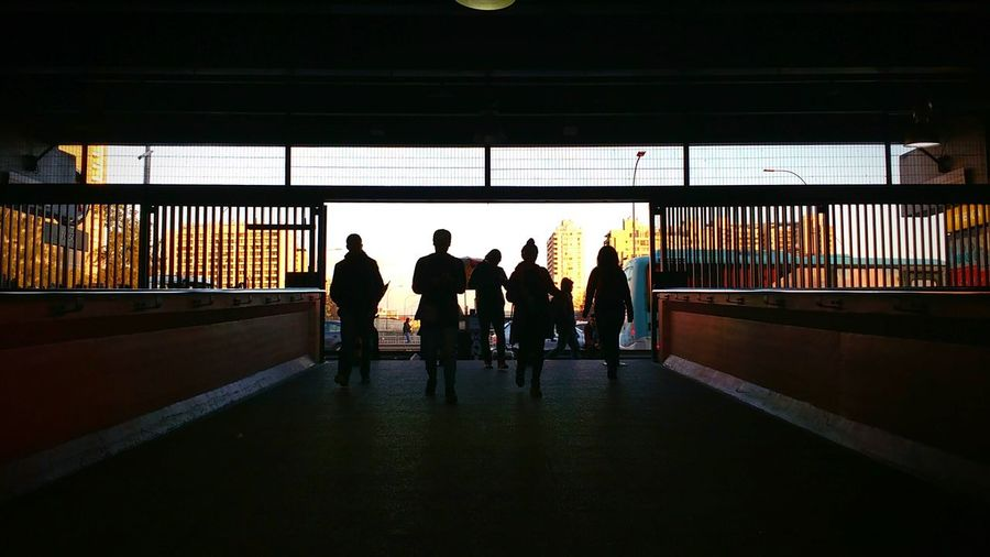 Chile Santiago Santiago De Chile Silhouette Lights & Shadows Urban Escape City Sunset Winter Silhouettes Urban Photography Subway Subway People Urban City Sunshine Sunset Lights And Shadows Urbanphotography Perspective Urban Exploration Metro Metro Station Check This Out