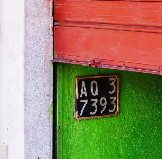Colours Of Italy Communication Close-up Architecture Green Color