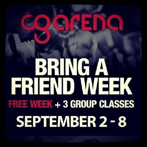 Cgwutwut Cg  CGarena Groupfitness groupclasses bringafriend