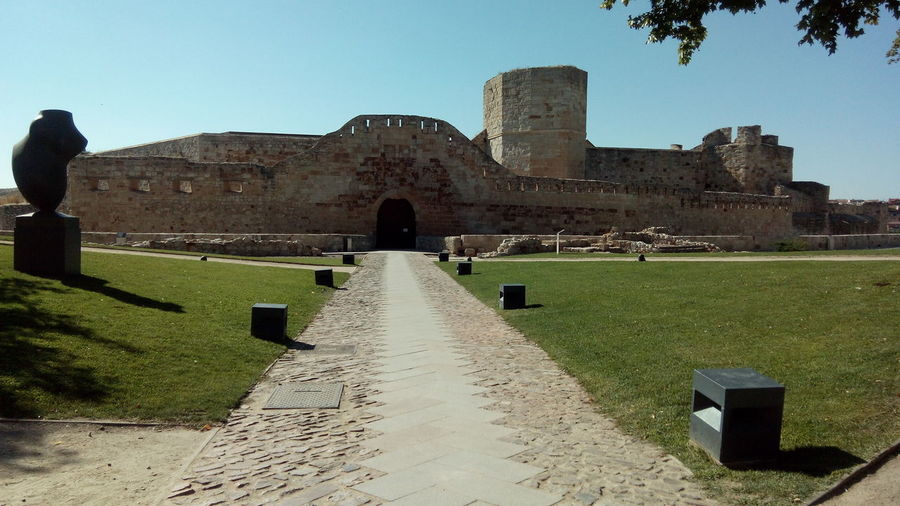 Zamora old travel Ancient Ancient Civilization Ancient History Architecture Building Exterior Built Structure Day Grass History No People Old Ruin Outdoors Sky The Past Travel Destinations Zamora Zamora, Spain