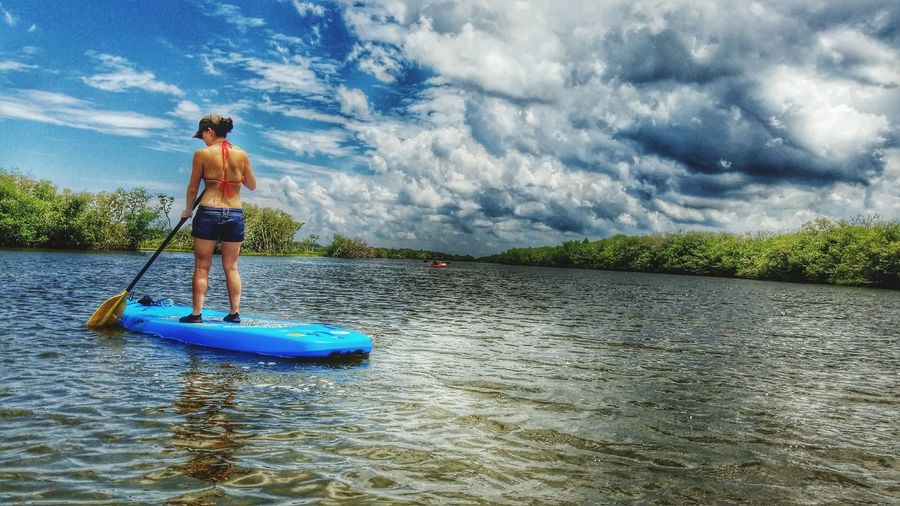 Paddleboarding River Life Loving Life! Fun Day Tadaa Community The Essence Of Summer No Location Needed Adventure Club Snap A Stranger