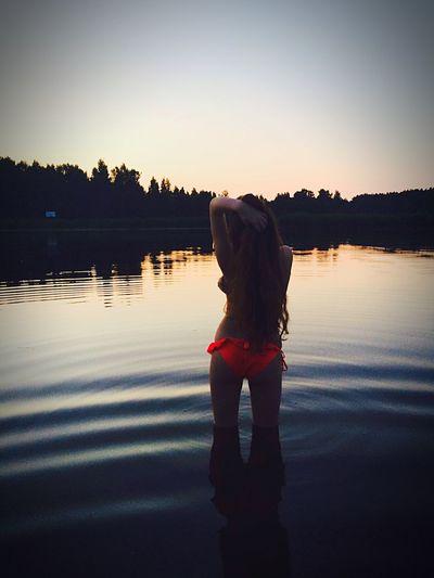 Swimming Mermaid Naked Estetica Ecstasy Infinity