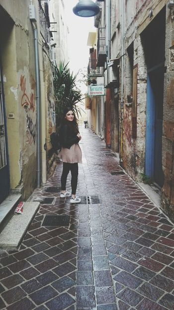 EyeEmNewHere Streetphotography Walking Real People RainyDay Oldtown Oldcity Streetstyle Women Around The World