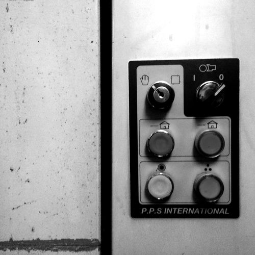 No People Indoors  Control Panel Takethemoment Old Old Buildings Oldtime Blackandwhite Black And White Black & White Blackandwhite Photography Buttons Light And Shadow Light Lights Shadow