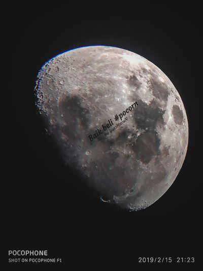 Moon is flat??