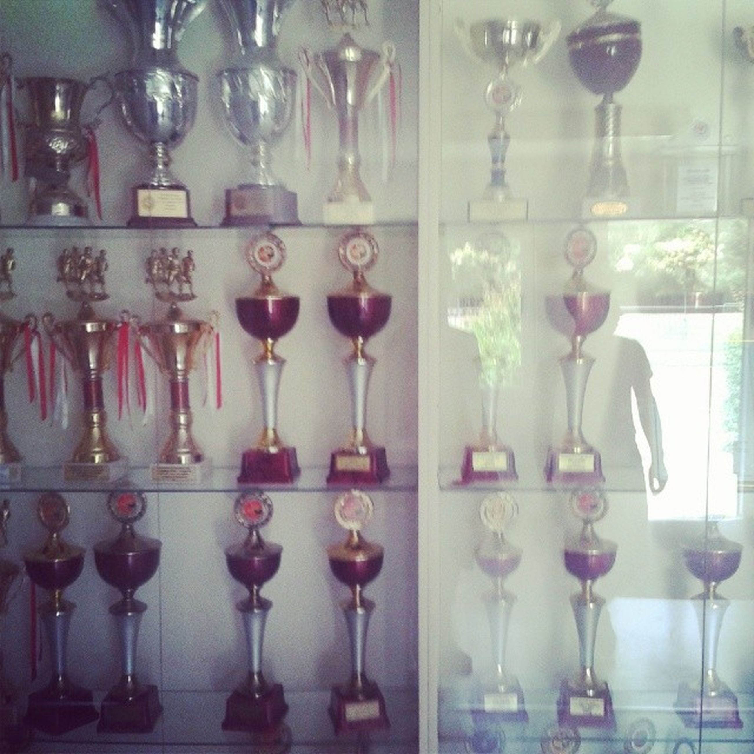 indoors, still life, glass - material, vase, table, hanging, home interior, arrangement, bottle, transparent, variation, decoration, shelf, close-up, wineglass, large group of objects, no people, wall - building feature, flower, decor