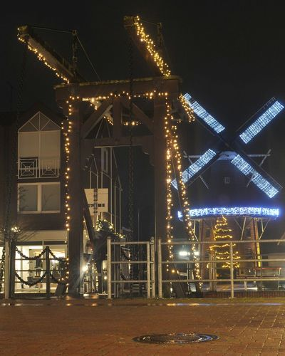Papenburg Nightphotography Night Photography Night Lights Windmühle Windmill Light EyeEm Deutschland Papenburg Architecture Architecture_collection Cities At Night