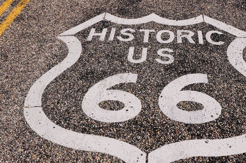 Amboy Route 66 Portrait Of America Photostock California USAtrip EyeEm Best Shots Historical Place Stockphoto WestCoast oatman,az