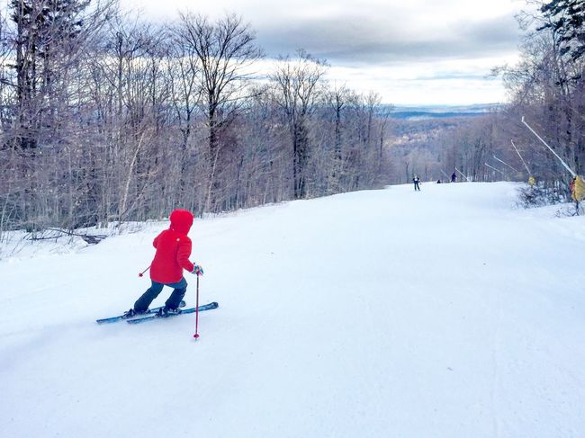 Snow Sports Winter Snow Cold Temperature One Person Vermont Skiing Strattonmountain