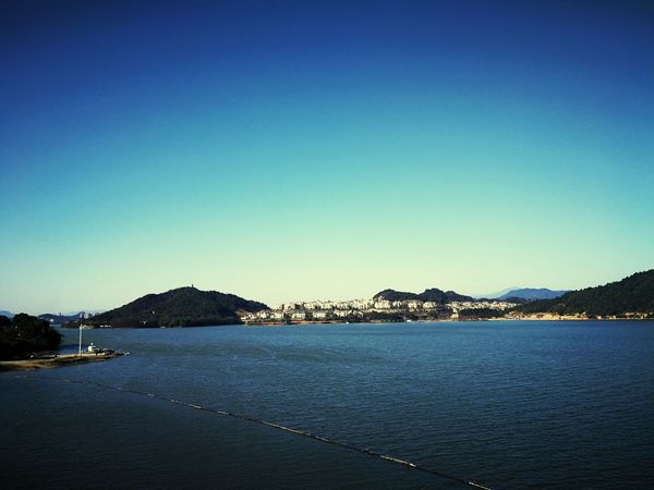 Mountain Sea Clear Sky Outdoors No People Water Scenics