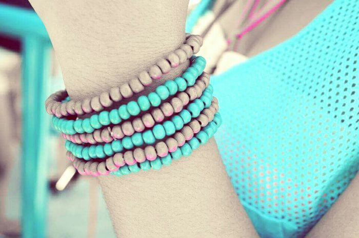 Accesories Bracelet Summery Clothes  Summer Hanging Out Enjoying Life Vibrantlife Vibrant Colors