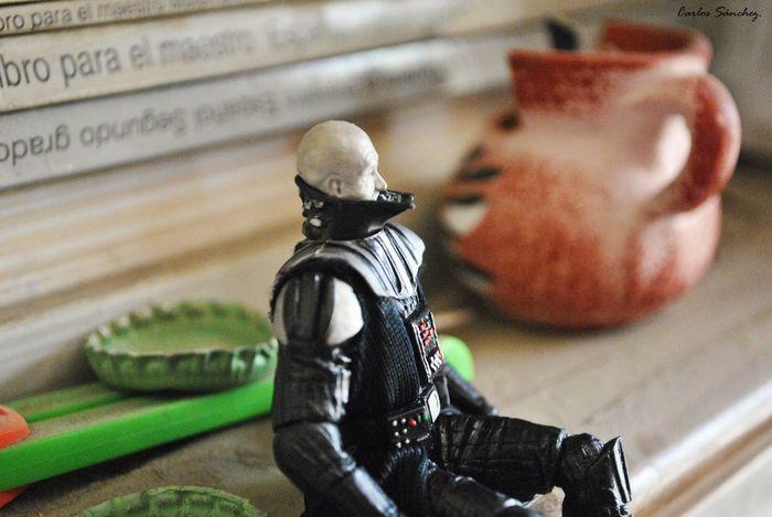 Pensando en la fuerza Star Wars Juguete Toy Macro