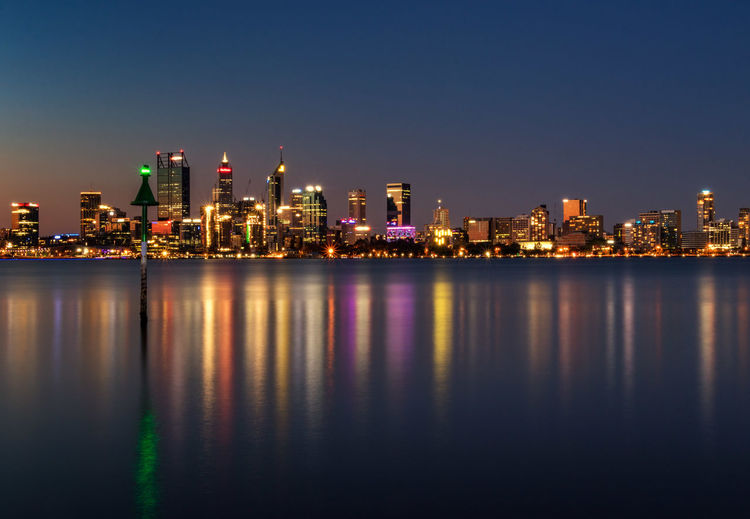 Reflections for Sale Perth Australia Architecture Building Building Exterior Built Structure City Cityscape Illuminated Landscape Nature Night No People Office Building Exterior Outdoors Reflection Sky Skyscraper Urban Skyline Water Waterfront