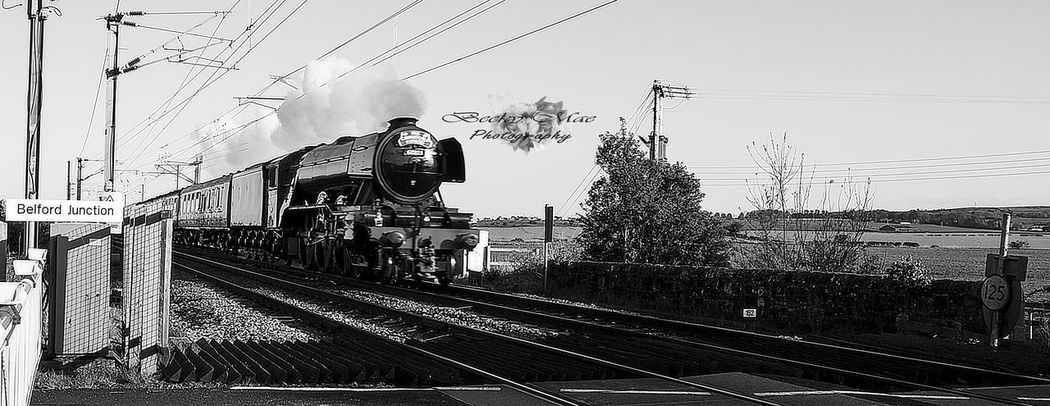 Belford Flyingscotsman History Outdoors Public Transportation Rail Transportation Railroad Track Train