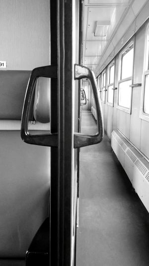 Railway Perspective Black & White Black And White Photography Infinity Doors Doorhandles Monochrome Photography