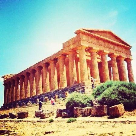 Agrigento, Sicily Traveling Ruins #me#summer#holiday#sun#beautiful#weeks#sicily#pollina#sea