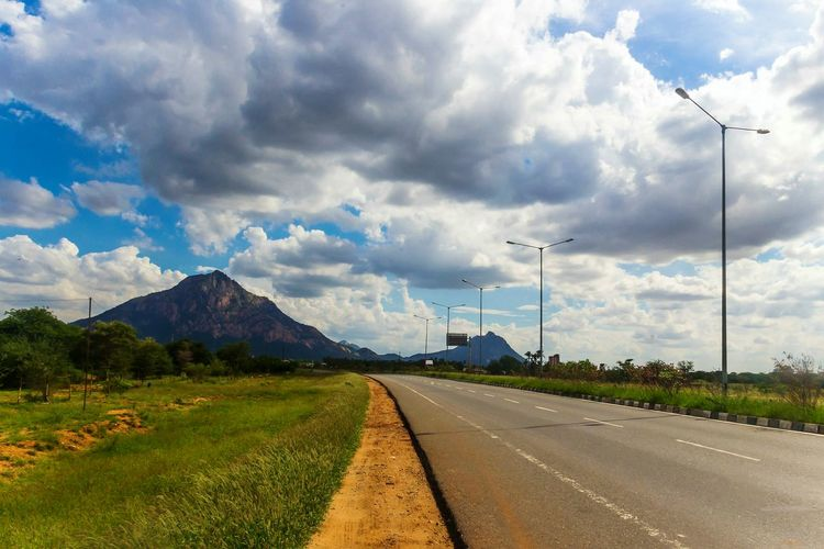 Happy weekend 😇 Mountain Landscape Cloud - Sky Cloudporn Scenics No People Nature Rural Scene The Way Forward Day Road Outdoors Highwayscape Travelling Highway Photography