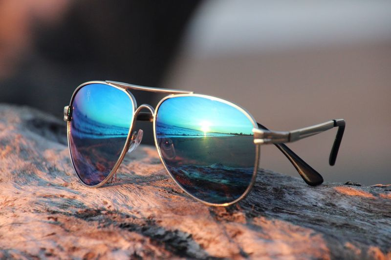 Sunglasses Close-up No People Table Eyeglasses  Beach Day Outdoors Eyesight Vision Sommergefühle