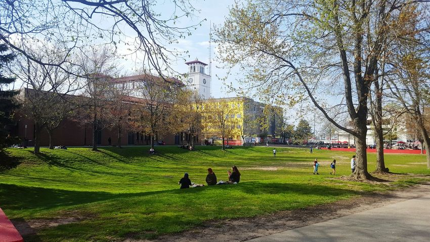 Quad Today pt. 3 Relaxing Montclair State University MONTCLAIR Nj New Jersey Enjoying Life Beauty Student Life New Jersey Photography Sky