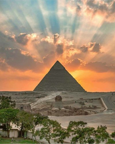 Pyramid Landscape Ancient Civilization