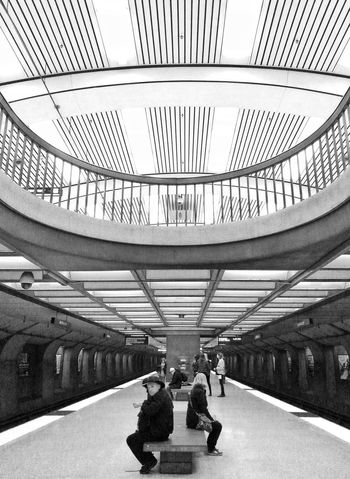 BART Bart Station Berkeley Black And White Black And White Photography Bw California Day People Samsung Galaxy S III Snapseed Street Photography Transportation