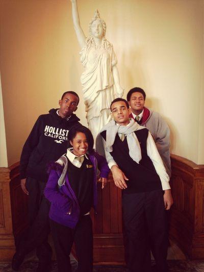 Lol Jacin, Tye, Alicia, & Cyean At The Capitol