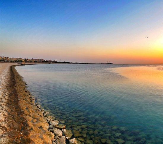 Morning تصويري  Photography الفناتير لقطه للشاطئ في الصباح ?
