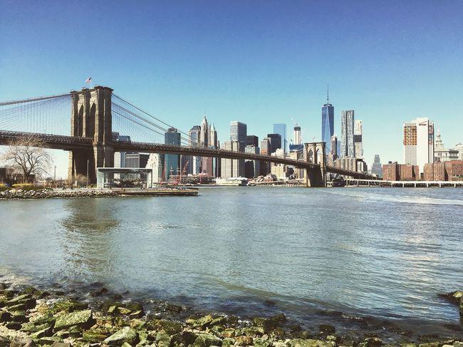 I ❤️ NYC New York City New York Brooklyn DUMBO East River East River, NYC Manhattan Brooklynbridge Brooklyn Bridge / New York Brooklyn Bridge Park