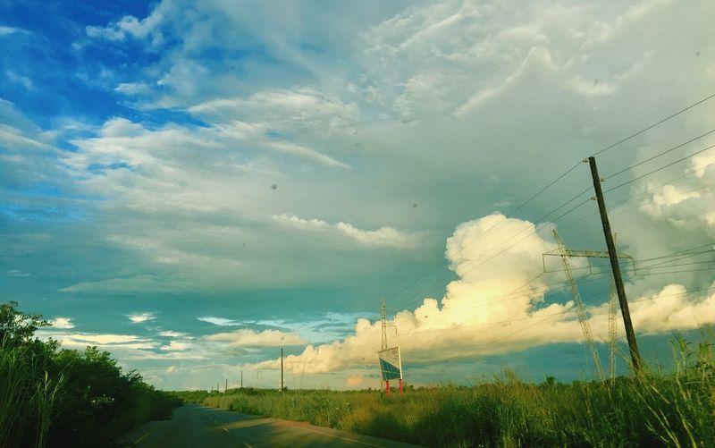 Massive nuage of the dawn