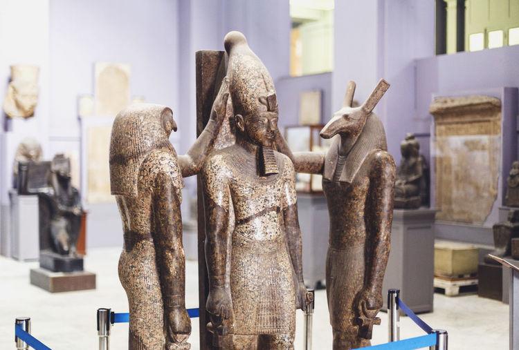 Ancient Civilization Art Art And Craft Close-up Cultures Egyptian Museum Egyptian Statue Egyptology Human Representation Pharahos Statue Sculpture Statue