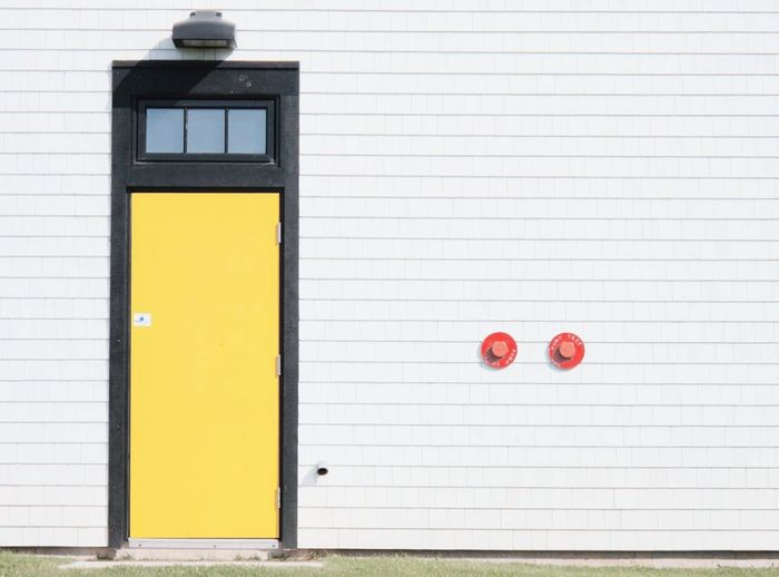 Door Yellow Door Pei Prince Edward Island Canada
