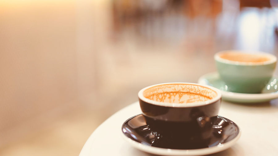 a cup of hot latte coffee with heart shape latte art, coffee lover concept Aroma Beverage Black Break Breakfast Brown Cafe Caffeine Cappuccino Coffee Couple Cup Drink Espresso Finish Hot Latte Love Morning Restaurant Shop Table Tasty Two Vintage