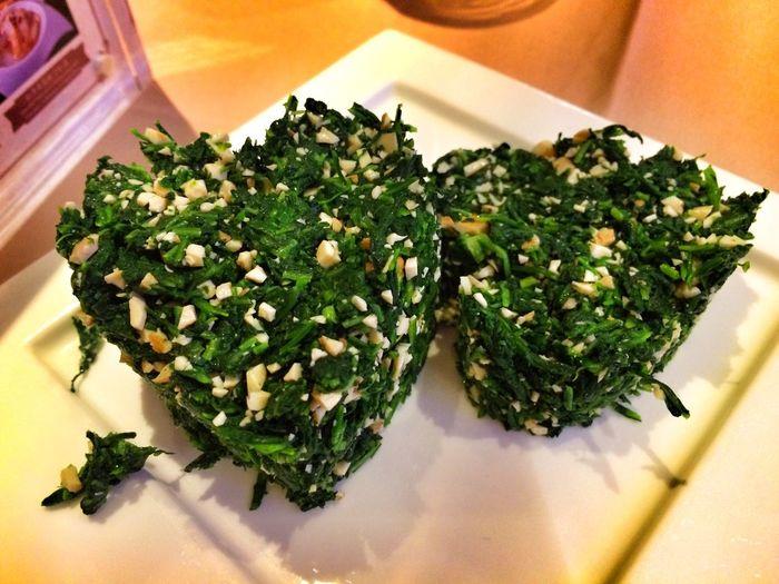 高菜と干し豆腐