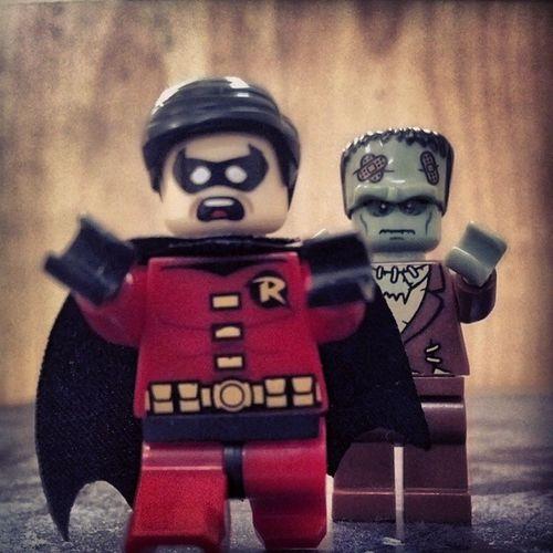 Ahh!!! Robin Frankenstine LEGO Monster