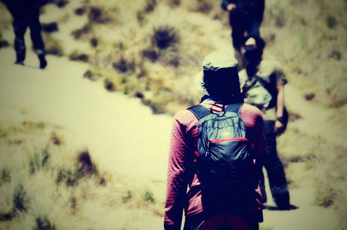 Tanjakan cinta..@ semeru Mountain