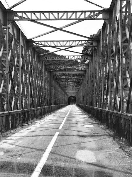 Bridge Bridge - Man Made Structure Architecture Road No People Outdoors